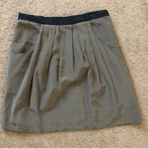 BCBG silk mini skirt size 2 gorgeous skirt